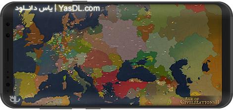 دانلود بازی Age of Civilizations II 1.01415_ELA Build 18 - عصر تمدنها 2 برای اندروید + دیتا