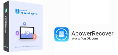 دانلود ApowerRecover 1.0.6.0 (Build 01/08/2019) - نرم افزار بازیابی اطلاعات حذف شده