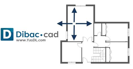 دانلود Dibac Cad 2019 6.01.09 - نرم افزار نقشهکشی ساختمان