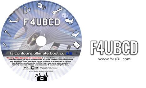 دانلود FalconFour's Ultimate Boot CD (F4UBCD) 4.61 - دیسک نجات سیستم