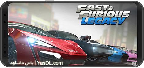 دانلود بازی Fast & Furious: Legacy 3.0.2 - اتومبیلرانی سریع و خشن برای اندروید + دیتا