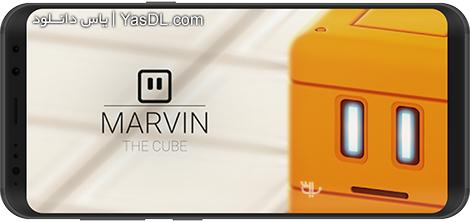دانلود بازی Marvin The Cube 1.6 - مکعبی با نام ماروین برای اندروید