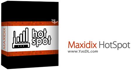 دانلود Maxidix HotSpot 14.9.22 Build 130 - به اشتراک گذاری اینترنت لپ تاپ