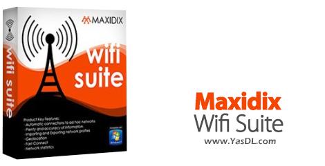 دانلود Maxidix Wifi Suite 15.9.2 Build 890 - پیکربندی و عیبیابی شبکههای بیسیم