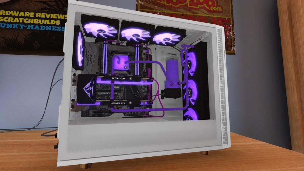 PC Building Simulator Overclockers UK Workshop For PC |  Despair