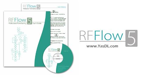 دانلود RFFlow 5.06 Revision 5 + Portable - نرم افزار ترسیم نمودارها و جریانهای کاری