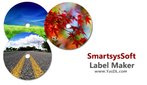 دانلود SmartsysSoft Label Maker 3.26 - طراحی لیبل و کاور برای دیسکهای CD/DVD