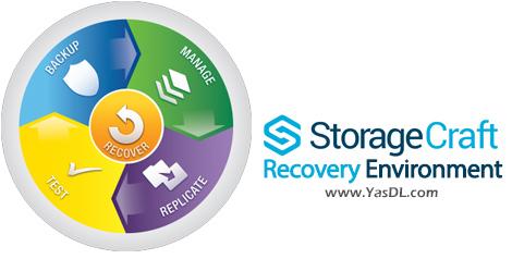 دانلود StorageCraft Recovery Environment CrossPlatform 2.2.4.10 - پشتیبانگیری و بازیابی سیستم