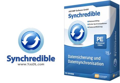 دانلود Synchredible Professional Edition 5.203 - نرم افزار همگامسازی فولدرها