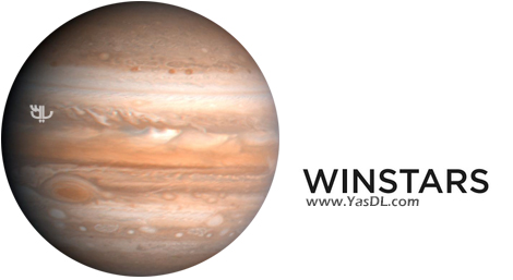 دانلود Winstars 2.079.3 - نرم افزار مشاهده سیارات منظومه شمسی