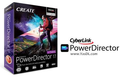 CyberLink PowerDirector Ultimate 17.6.3125.0 Video Editor