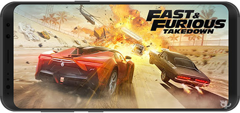 دانلود بازی Fast & Furious Takedown 1.3.58 - اتومبیلرانی سریع و خشن برای اندروید + نسخه بی نهایت + دیتا