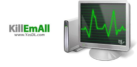 دانلود KillEmAll 19.2.6 - بستن آسان و سریع پردازشها در ویندوز