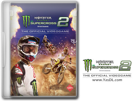 دانلود بازی Monster Energy Supercross The Official Videogame 2 برای PC