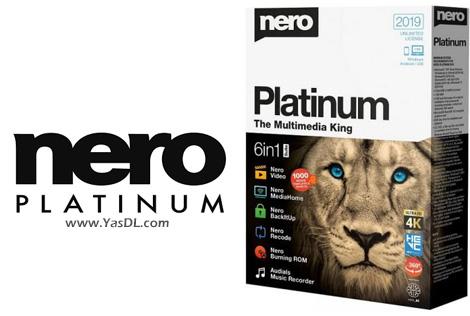 دانلود Nero Platinum 2019 Suite 20.0.06800 + Content Pack - مجموعه ابزارهای نرو