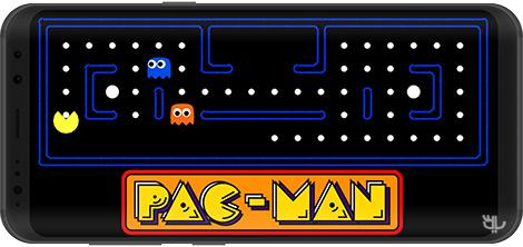 دانلود بازی PAC-MAN 7.1.1 - سرگرمی خاطرهانگیز پک-من برای اندروید + نسخه بی نهایت