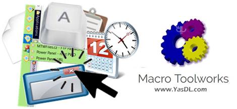دانلود Pitrinec Macro Toolworks Professional 8.6.2 - خودکارسازی اجرای فعالیتها در ویندوز