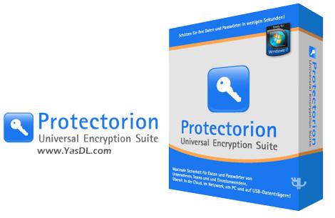 دانلود Protectorion 4.0.0.83 - نرم افزار محافظت و رمزگذاری دادهها