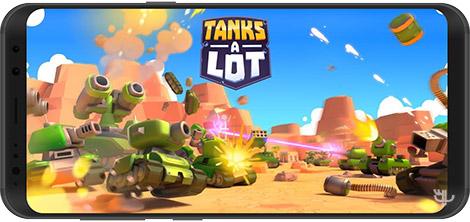 دانلود بازی Tanks a Lot! 1.70 - نبرد تانک ها برای اندروید + نسخه بی نهایت
