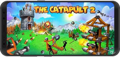 دانلود بازی The Catapult 2 2.0.1 - شبیهساز منجنیق 2 برای اندروید + نسخه بی نهایت
