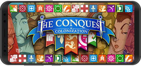 دانلود بازی The Conquest: Colonization 1.1 - اشغال قاره آمریکا برای اندروید + نسخه بی نهایت