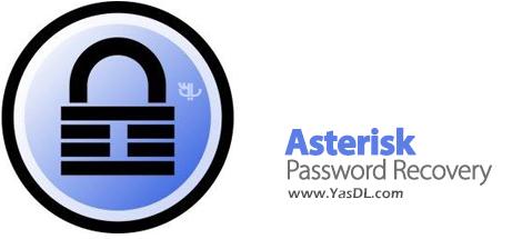 دانلود Top Password Asterisk Password Recovery 2.1 - نمایش پسوردها در ویندوز