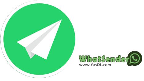 دانلود WHATSENDER Pro 3.5 - ارسال پیام انبوه و تبلیغاتی در واتس اپ
