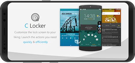 دانلود C Locker Pro 8.3.6.4 - شخصیسازی لاک اسکرین اندروید