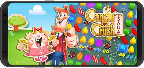 دانلود بازی Candy Crush Saga 1.147.0.2 برای اندروید + پول بی نهایت