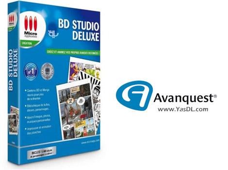 دانلود Digital Comic Studio Deluxe 1.0.0.0 - نرم افزار طراحی کمیک و داستان مصور