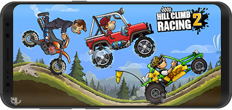 دانلود بازی Hill Climb Racing 2 1.24.2 - تپه نوردی 2 برای اندروید + نسخه بی نهایت