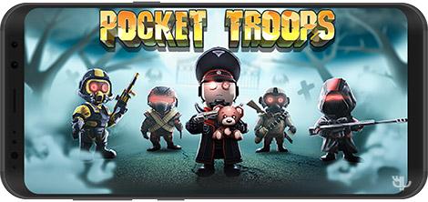دانلود بازی Pocket Troops 1.30.0 - سربازان کوچک برای اندروید + دیتا
