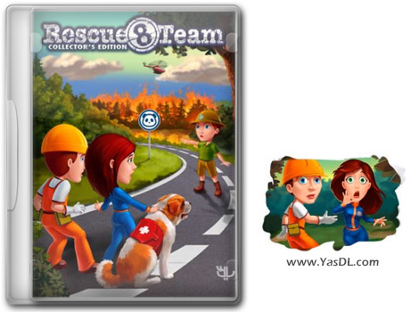 دانلود بازی Rescue Team 8 Collectors Edition برای PC