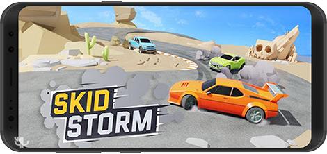 دانلود بازی SkidStorm 1.0.143 - طوفان ماشین ها برای اندروید + پول بی نهایت