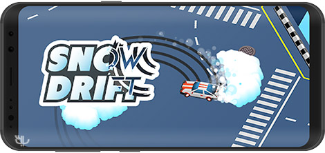 دانلود بازی Snow Drift 1.0.5 - دریفت در آب و هوای برفی برای اندروید