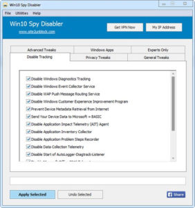 Win10 Spy Disabler.cover1  282x300 - دانلود Win10 Spy Disabler 1.5 - نرم افزار مدیریت سرویسها در ویندوز 10