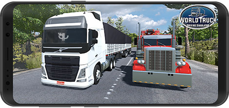 World Truck Driving Simulator 1.142 For Android + Infinity Edition