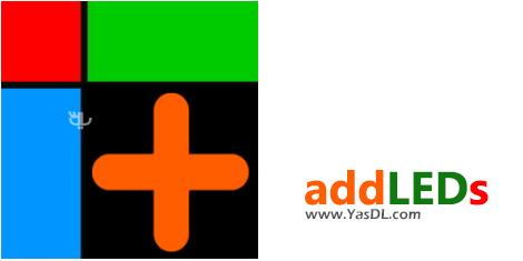 دانلود addLEDs 1.1.1.3 - نشانگر LED برای نظارت بر فعالیت سیستم