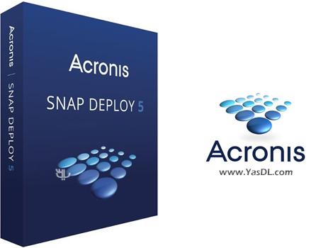 دانلود Acronis Snap Deploy 5.0.1924 + Bootable ISO - پیکربندی سریع سیستمها در شبکه