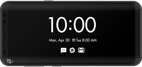 دانلود Always On AMOLED - BETA 1.1.1 - نمایش دائمی ساعت بر روی صفحه اندروید