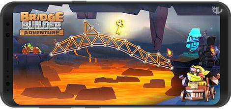دانلود بازی Bridge Builder Adventure 1.0.5 - معمای پلسازی برای اندروید + نسخه بی نهایت