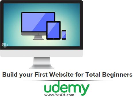 دانلود دوره آموزش طراحی وب برای مبتدیان - Build your First Website for Total Beginners - Udemy
