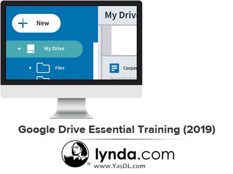 دانلود فیلم آموزش گوگل درایو - Google Drive Essential Training (2019) - Lynda