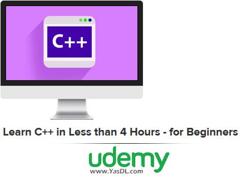 دانلود آموزش سی پلاس پلاس در 4 ساعت - Learn C++ in Less than 4 Hours - for Beginners - Udemy
