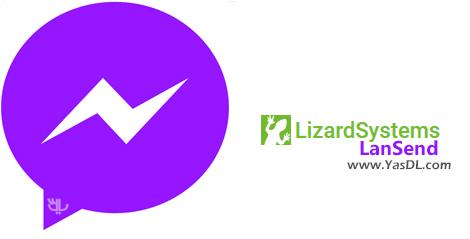 دانلود LizardSystems LanSend 2.7.0 Build 67 - نرم افزار ارسال پیام درون شبکه