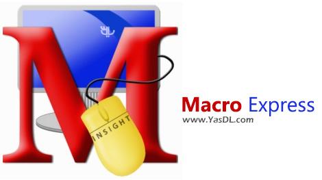 دانلود Macro Express Pro 6.1.0.1 - ماکروی ضبط و اجرای اقدامات به صورت خودکار