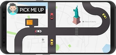 دانلود بازی Pick Me Up 1.4 - رانندگی و مسافرکشی در سطح شهر برای اندروید + نسخه بی نهایت