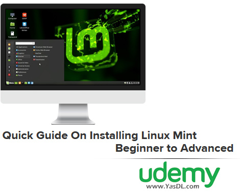 دانلود فیلم آموزش نصب لینوکس مینت - Quick Guide On Installing Linux Mint - Beginner to Advanced - Udemy