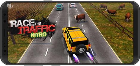 دانلود بازی Race the Traffic Nitro 1.2.6 - رانندگی در ترافیک برای اندروید + نسخه بی نهایت
