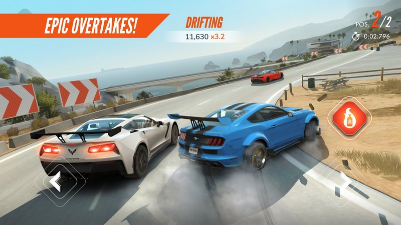 Rebel Racing 1.27.9863 Breathtaking Car Racing For Android + Data